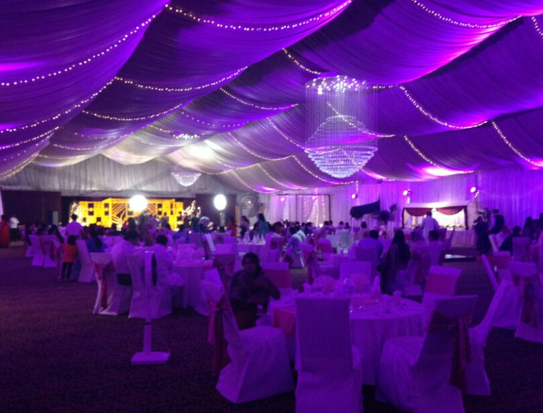 Party-Tents-With-Lining-Decorations